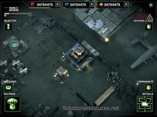 Zombie Gunship Survival astuces or gratuit