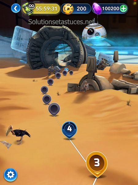 Astuces Star Wars Puzzle Droids gemmes illimités