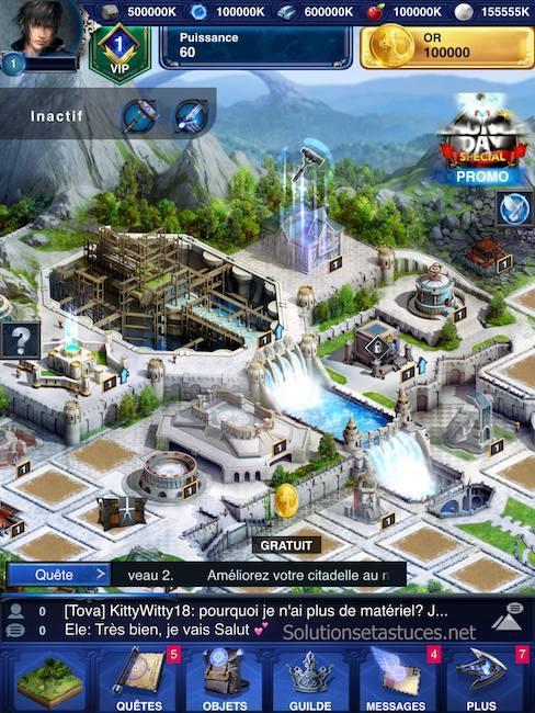 Astuces Final Fantasy XV A New Empire or illimité
